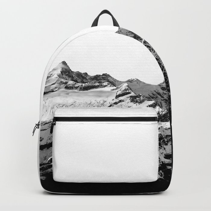 Mountain(black and white) Backpack