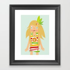 Little Indian Framed Art Print