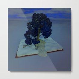 Tree of Knowledge Metal Print