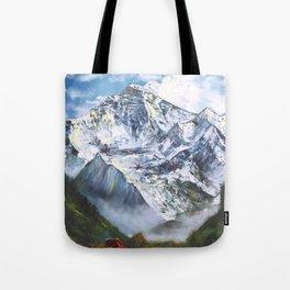 Jungfrau mountain. Swiss Alps Tote Bag
