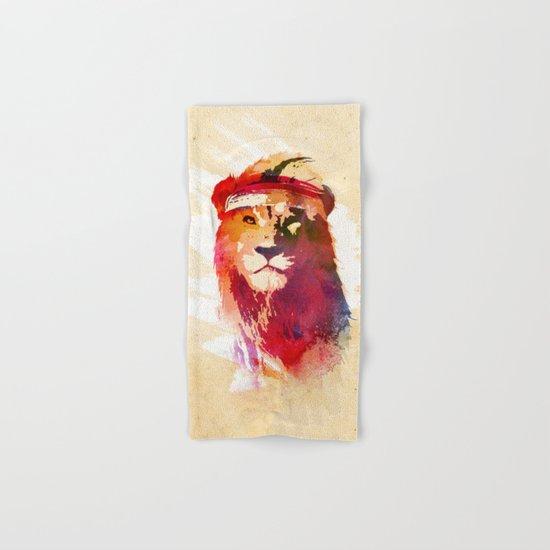 Gym Lion Hand & Bath Towel