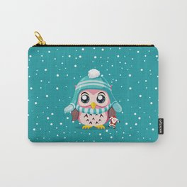 Owl Get A Holiday Carry-All Pouch