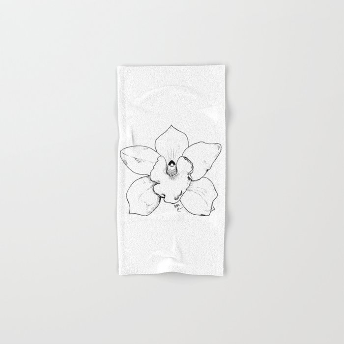 WILD ORCHID Hand & Bath Towel