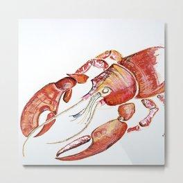 The Lobster Metal Print