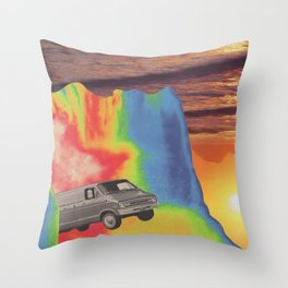 What A Long Strange Trip It's Been Throw Pillow
