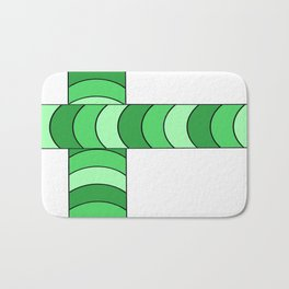 Blunt, in green Bath Mat