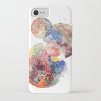 planets iPhone & iPod Cases featuring Planets by emluluna