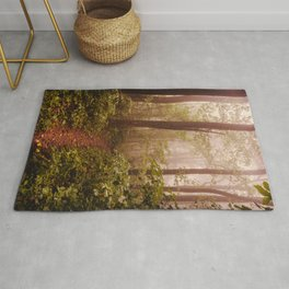 Smoky Mountain Forest Adventure II - National Park Nature Photography Rug