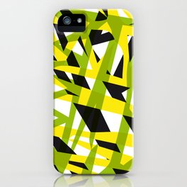 structure camouflage iPhone Case
