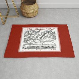 The Bedford Oak Zentangle Illustration Rug