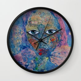 Dreaming about the sea Wall Clock
