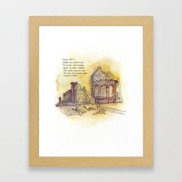 Builders - Psalm 127:1 Framed Art Print