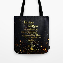 Caraval - Change Your Fate Tote Bag