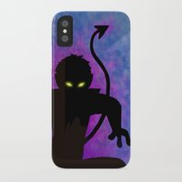 nightcrawler iPhone & iPod Cases featuring Nightcrawler by Sprite