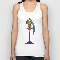bread Tank Tops featuring Ancient Bread by Paco Dozier