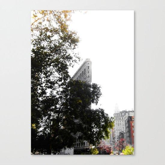 Flatiron Autumn Canvas Print