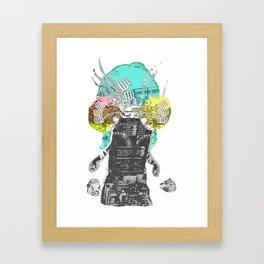 CutOuts - 7 Framed Art Print