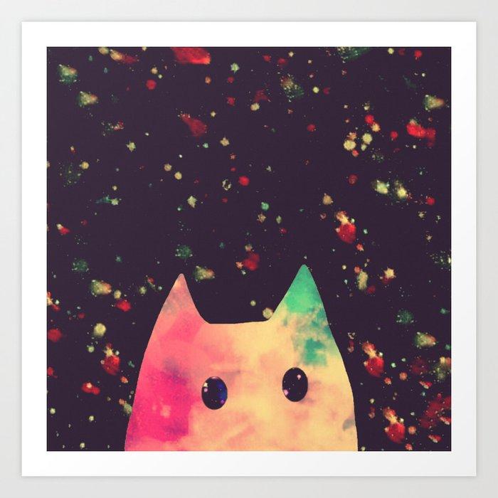 cats-465 Art Print