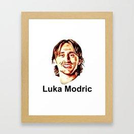 Luka Modric Framed Art Print