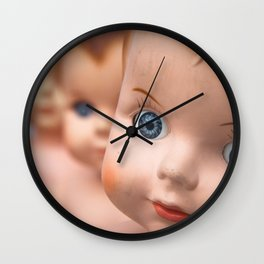 Baby Blue Eyes Wall Clock