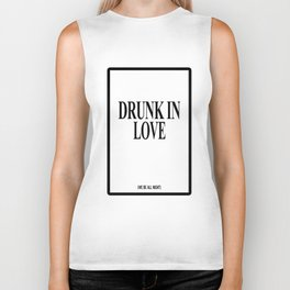 DRUNK IN LOVE FLAWLESS Surfboard Swag Illuminati Music Top illuminati Biker Tank