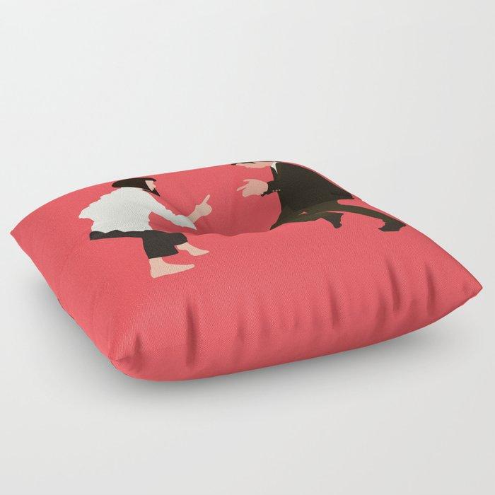 pulp fiction Floor Pillow