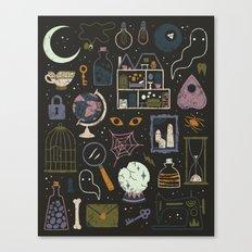 Haunted Attic Canvas Print