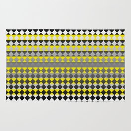 Lines and Squares Rug