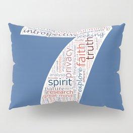 Life Path 7 (color background) Pillow Sham
