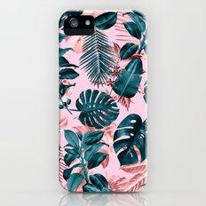 Tropical Garden III Slim Case iPhone SE