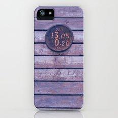 wood iPhone (5, 5s) Slim Case