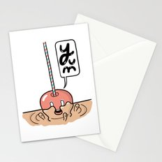 Friends Go Better Together 2/7 - Apple and Caramel Stationery Cards