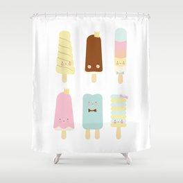 Icecreams all over Shower Curtain