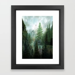 Mountain Morning 2 Framed Art Print