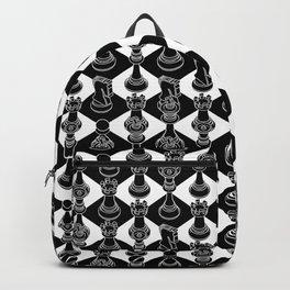 Isometric Chess BLACK Backpack