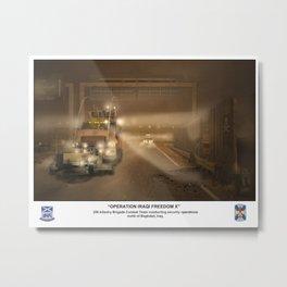 3-156 IN in Iraq Metal Print