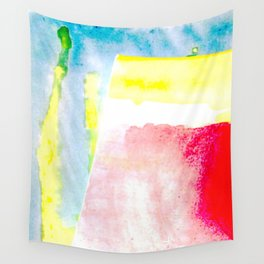 Primary New Year Colors Wall Tapestry