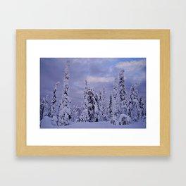 The Winter Wonderland Framed Art Print