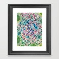 Raspberry Lime Framed Art Print