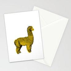huacaya alpaca Stationery Cards