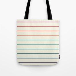 Beach Stripe 3 Tote Bag