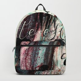 te estoy esperando Backpack