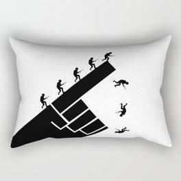 To the arms! Rectangular Pillow