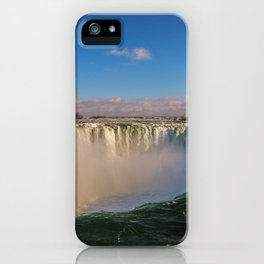 sunny horseshoe falls iPhone Case