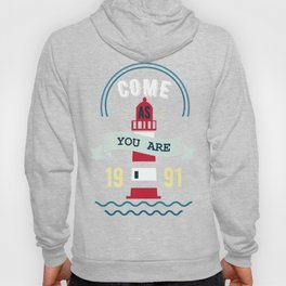 come as you are (clear) Hoody