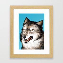 A predator Framed Art Print