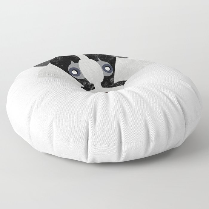 Huffle Badger Everyday I'm Huffling Cute  Floor Pillow