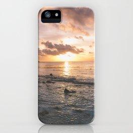 Caribbean Sea, Mayan Riviera iPhone Case