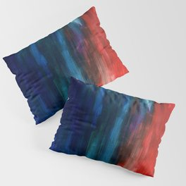 Spring Yeah! - Abstract paint 1 Pillow Sham