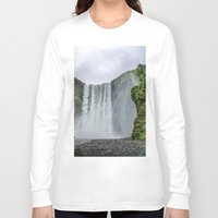 iceland Long Sleeve T-shirts featuring Intrepid Iceland by Alex Tonetti Photography